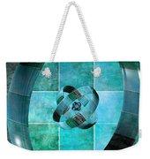 3 By 3 Ocean Rings Weekender Tote Bag
