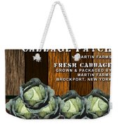 Cabbage Farm Weekender Tote Bag