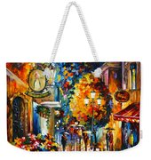 Cafe In The Old City Weekender Tote Bag