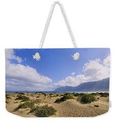 Caleta De Famara Beach On Lanzarote Weekender Tote Bag
