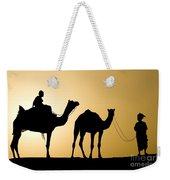 Camel Caravan, India Weekender Tote Bag
