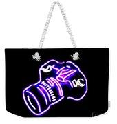 Camera Edited Weekender Tote Bag