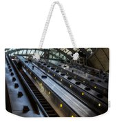 Canary Wharf Station Weekender Tote Bag