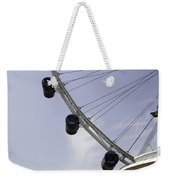 3 Capsules Of The Singapore Flyer Along With The Spokes And Base Weekender Tote Bag