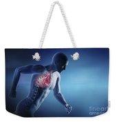 Cardiovascular Exercise Weekender Tote Bag