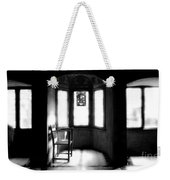 3 Castle Rooms Bw Weekender Tote Bag