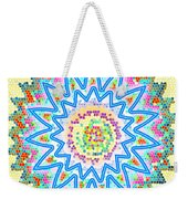 Colorful Signature Art Chakra Round Mandala By Navinjoshi At Fineartamerica.com Rare Fineart Images  Weekender Tote Bag