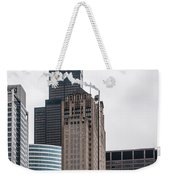 Chicago Architecture Weekender Tote Bag