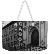Chicago Theater Weekender Tote Bag