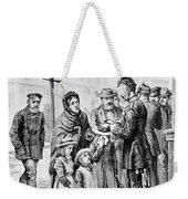 Cholera: Hamburg, 1892 Weekender Tote Bag