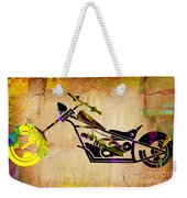 Chopper Art Weekender Tote Bag