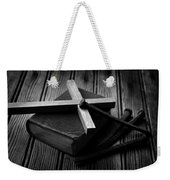 Christian Cross And Rusty Nails Weekender Tote Bag