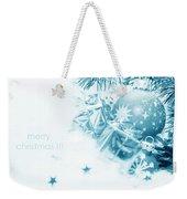 Christmas Balls Decoration Weekender Tote Bag