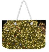 Christmas Tree Ornaments Faneuil Hall Tree Boston Weekender Tote Bag
