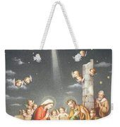Christmas Card Weekender Tote Bag by French School