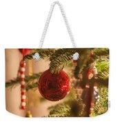 Christmas Tree Ornaments Weekender Tote Bag