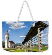 Church Of Saint John In Spring Weekender Tote Bag