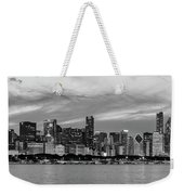 City At The Waterfront, Lake Michigan Weekender Tote Bag