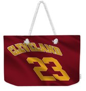 Cleveland Cavaliers Uniform Weekender Tote Bag