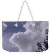 Clouds And Trees Weekender Tote Bag