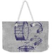 Collapsible Drum Patent 008 Weekender Tote Bag