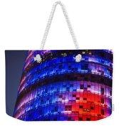 Colorful Elevation Of Modern Building Weekender Tote Bag