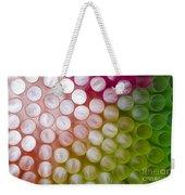 Colorful Straws Weekender Tote Bag