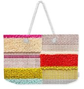 Colorful Textile Weekender Tote Bag