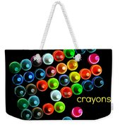 Colorful Wonderful Crayons Weekender Tote Bag