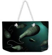 Conceptual Image Of Euglena Weekender Tote Bag