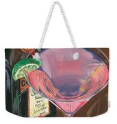 Cosmo Martini Weekender Tote Bag by Debbie DeWitt