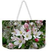 Crabapple Blossoms Weekender Tote Bag