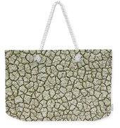 Cracked Dry Clay Weekender Tote Bag