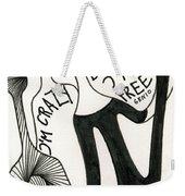 Crazy But Free Weekender Tote Bag