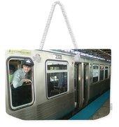 Cta's Retired 2200-series Railcar Weekender Tote Bag
