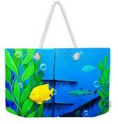 3-d Aquarium Weekender Tote Bag