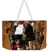 Dachshund Art Canvas Print Weekender Tote Bag