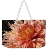 Dahlia Named Intrepid Weekender Tote Bag