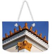 Decorative Roof Tiles In Plaka Weekender Tote Bag