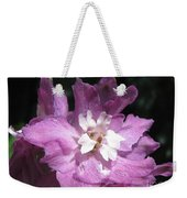 Delphinium Named Magic Fountains Lilac Pink Weekender Tote Bag