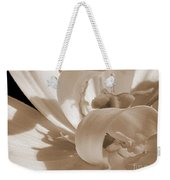 Double Late Tulip Named Angelique Weekender Tote Bag