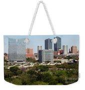 Downtown Fort Worth Texas Weekender Tote Bag