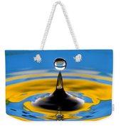 Drop Of Water Weekender Tote Bag