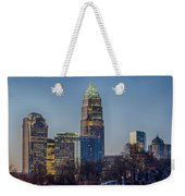 Early Morning In Charlotte Nc Weekender Tote Bag