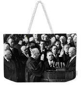 Eisenhower Inauguration Weekender Tote Bag
