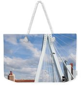 Erasmus Bridge In Rotterdam Weekender Tote Bag