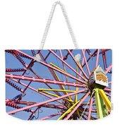Evergreen State Fair Ferris Wheel Weekender Tote Bag