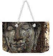 Face Of Buddha Weekender Tote Bag