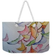 Falling Into Place Weekender Tote Bag by Sherry Harradence