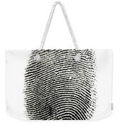 Fingerprint Weekender Tote Bag